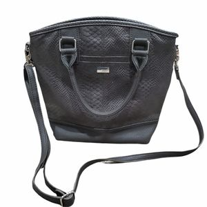 New Without Tags! Jewell by Thirty One Paris Charcoal Grey Handbag
